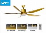 Quạt trần AC 05 cánh ACF03D665-G (vàng đồng)