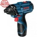Máy vặn vít dùng pin Bosch GDR 120-LI (kèm phụ kiện)