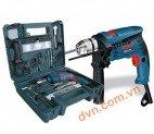 Bộ máy khoan động lực 100 món Bosch GSB 13 RE