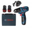 Máy khoan dùng pin Bosch GSR 120-LI GEN II (kèm bộ phụ kiện)