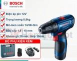 Máy khoan dùng pin Bosch GSR 120-LI GEN II