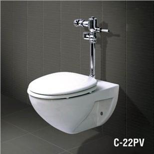 Bàn cầu treo tường C-22PV (Nắp đóng thường)