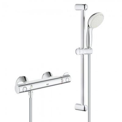 Bộ sen tắm đơn trộn nhiệt tự động Grohe 34565000