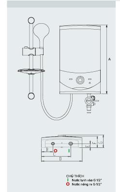 Sơ đồ máy nước nóng SMC45E-VN